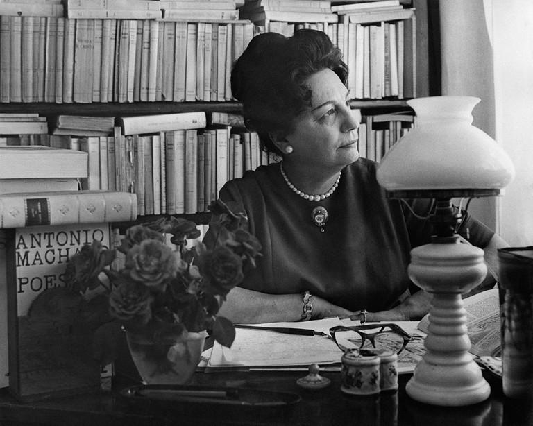 Maria Bellonci, Rome, 1961
