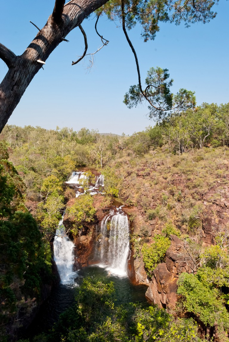Waterfall in Litchfield National Park, Australia