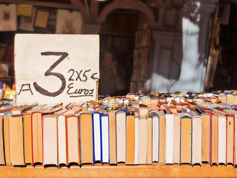Madrid, Cuesta de Moyano bookstalls