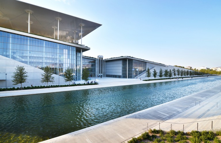 Stavros Niarchos foundation cultural center - the building of National opera Greece