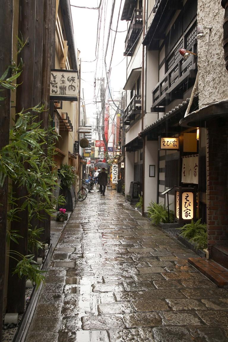 Osaka hozenji