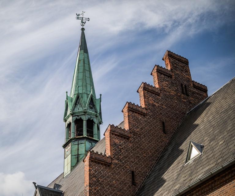 Emmaus Church Spire, Frederiksberg, Copenhagen, Denmark