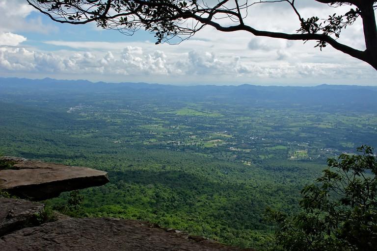Pha Ham Hod, Sai Thong National Park, Chaiyaphum Province, Thailand
