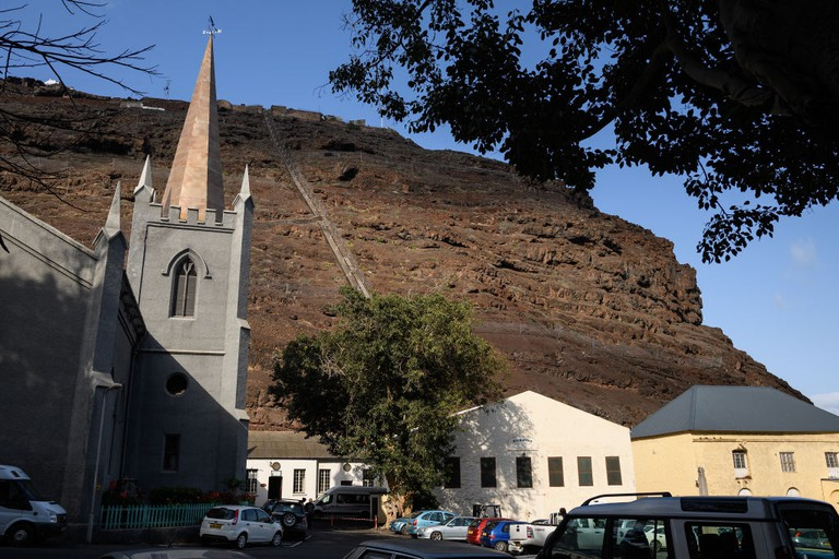 St James' Anglican church in Jamestown, Saint Helena