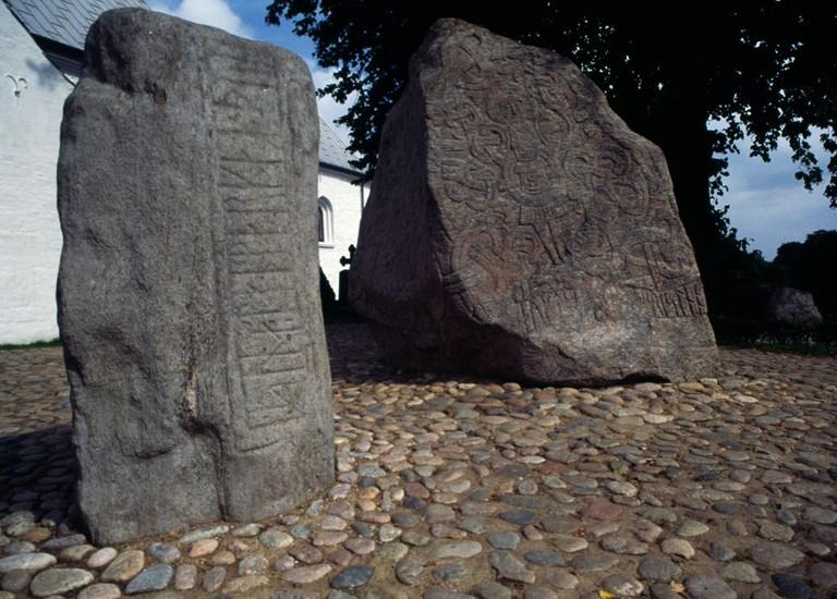 Rune stones, Jelling