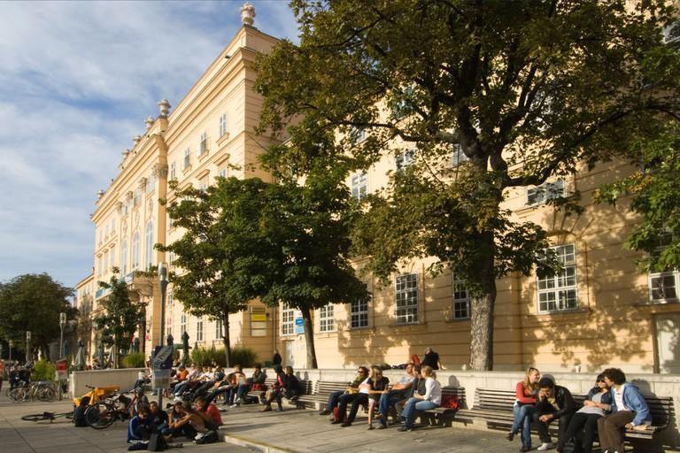 Osterreich, Wien, Museumsquartier,