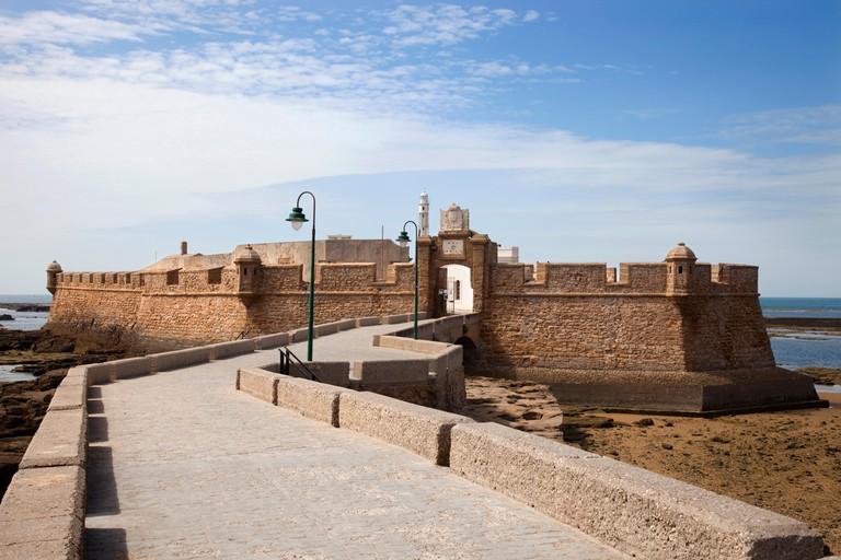 San Sebastian Castle, Cadiz