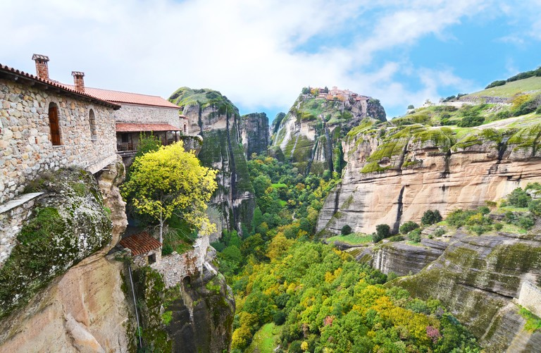 the old monasteries of Meteora Greece