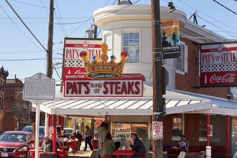 Pat's King of Steaks restaurant