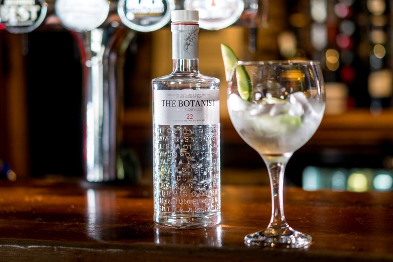 Scottish Gin a great current drink