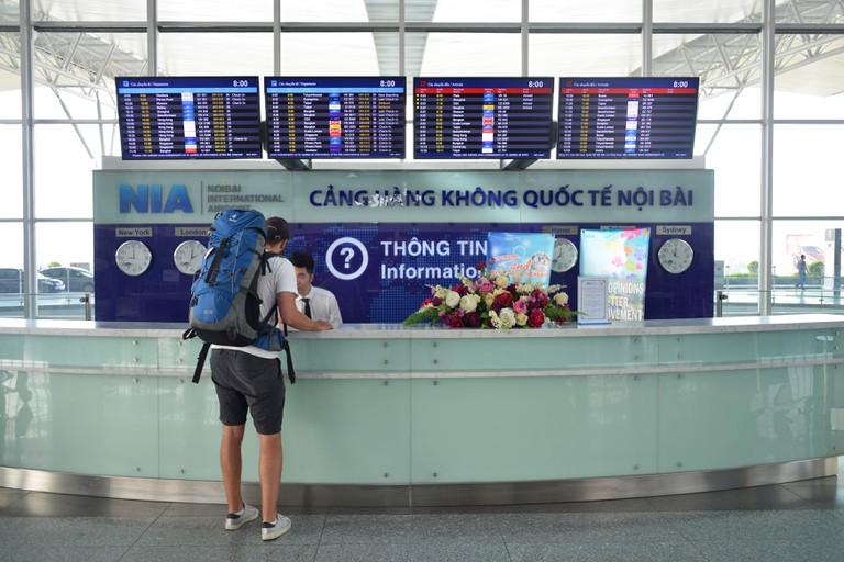 Information, Internationally airport, Noi bay, Hanoi, Vietnam, International Airport, Noi Bai