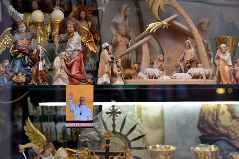 Religious souvenirs in Vatican City