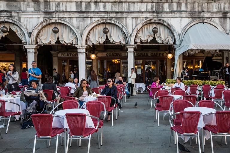 Caffe Quadri, Venezia, Italy
