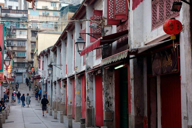 The Street of Happiness, Rua da Felicidade, Macau