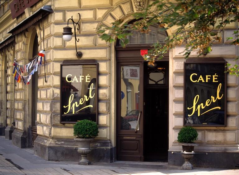 Cafe Sperl in Vienna