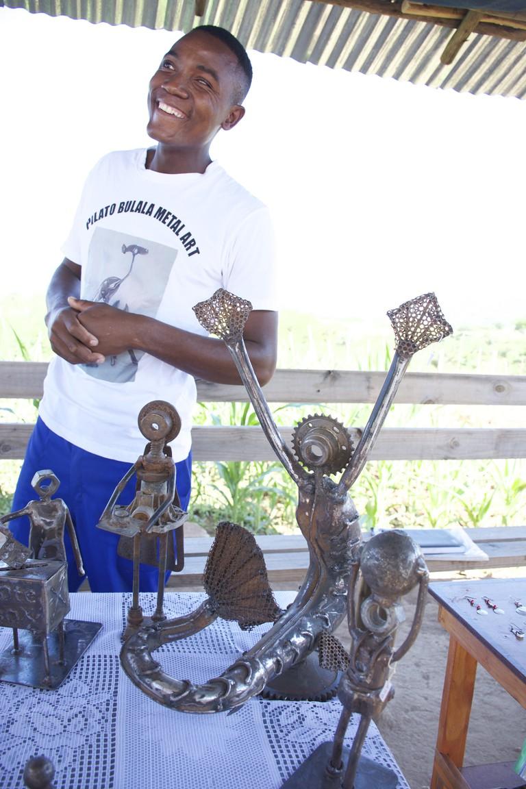 Pilato metalwork