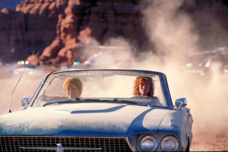 Thelma & Louise Year : 1991 USA Director : Ridley Scott Susan Sarandon, Geena Davis. Image shot 1991. Exact date unknown.
