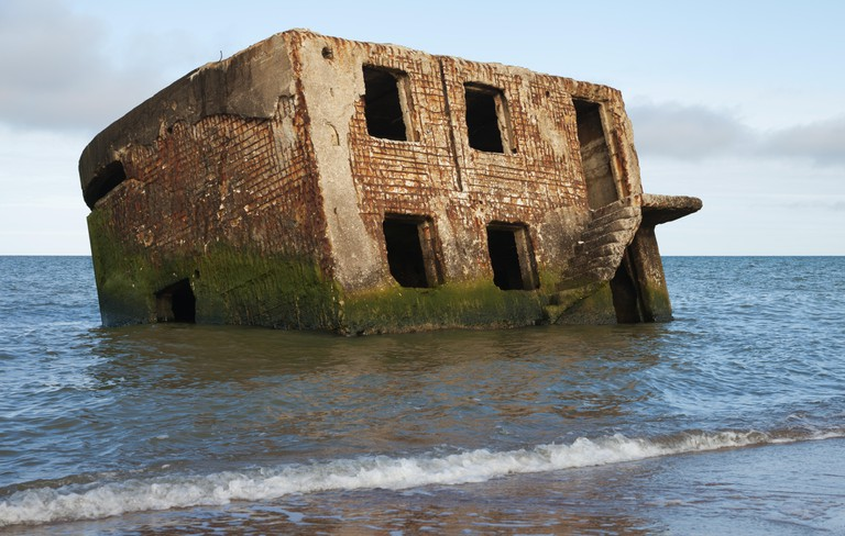 Abandoned old northern fortress in Liepaja
