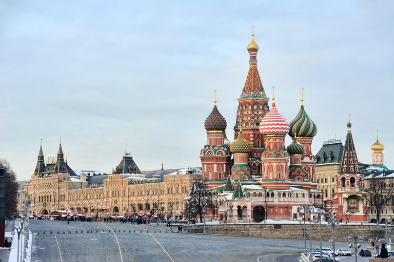 St. Basil's Cathedral from Bolshoi Moskovoretsky Bridge
