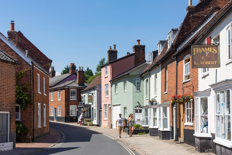 New Street, Woodbridge, Suffolk, England.
