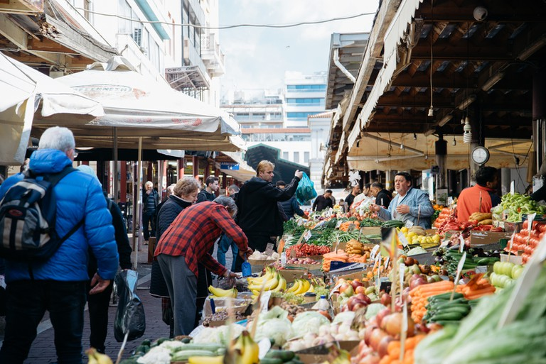 Nearly every neighbourhood has its own weekly farmer's market – known as a laiki