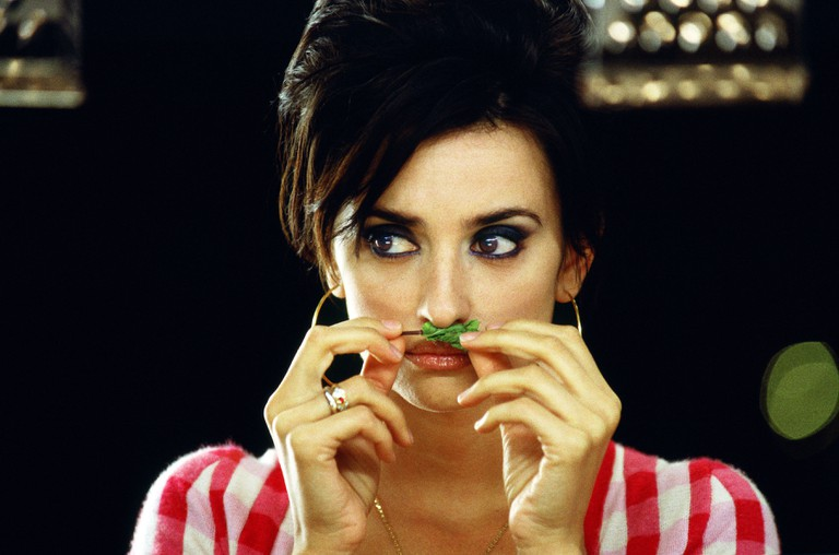 "Penelope Cruz in a still from the movie ""Volver"""