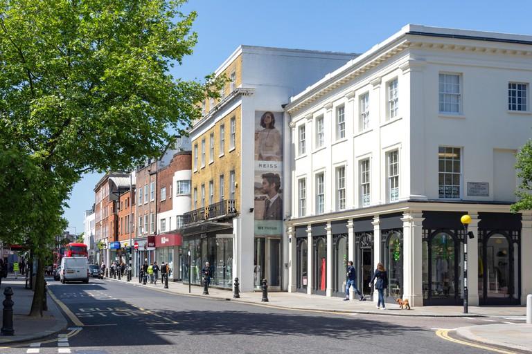 Kings Road, Chelsea, London.