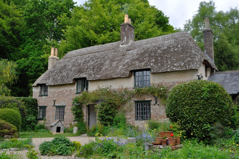 Author Thomas Hardy's cottage at Higher Bockhampton, Dorset