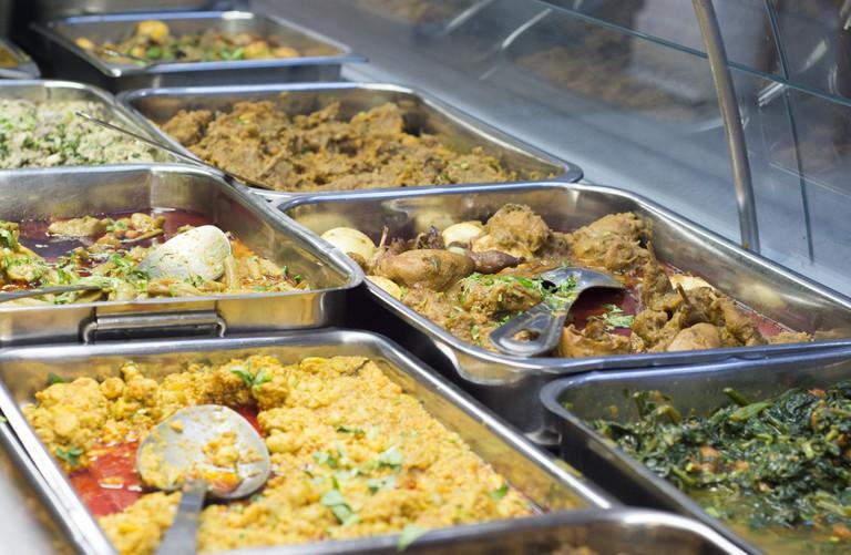 Traditional Bangladeshi Eatery - Photo Credit Peter Watson