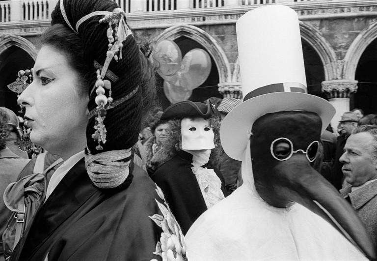 ITALY. Venezia. 14/02/1982: Carnival.