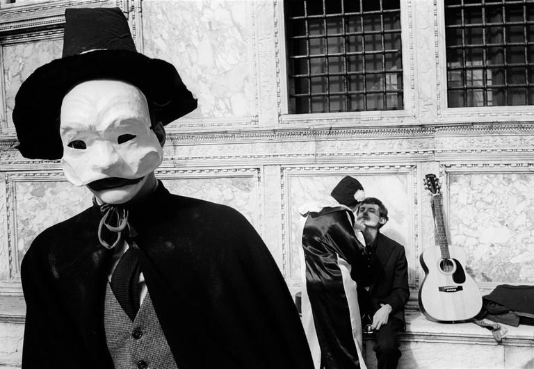ITALY. Venezia. 18/02/1982: Carnival.