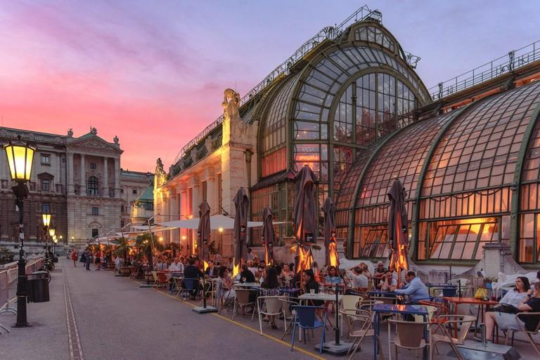 The art nouveau Palmhouse