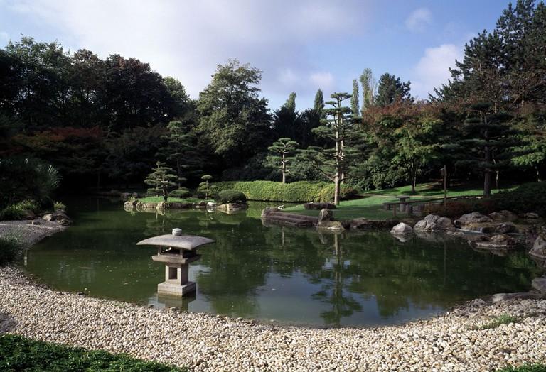 Dusseldorf, Nordpark, Japanischer Garten