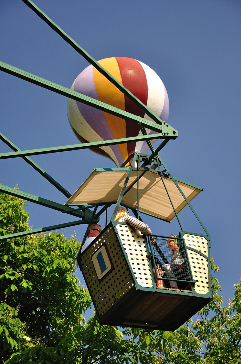 The Ferris Wheel ride, Tivoli Gardens, Copenhagen, Hovedstaden Region, Denmark. Image shot 2011. Exact date unknown.