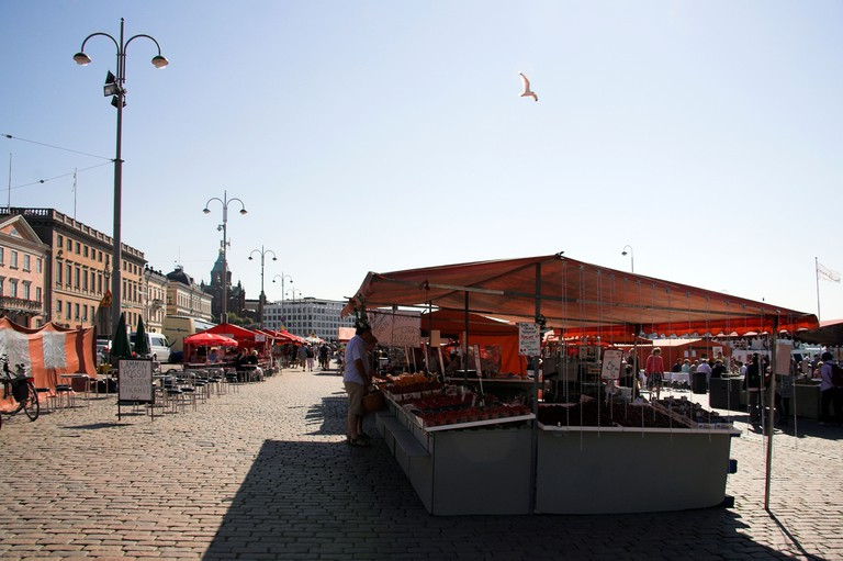 Food stalls, Market Square