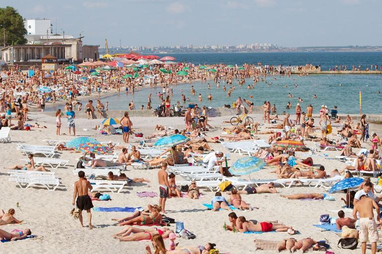 Odessa beach Lanzheron