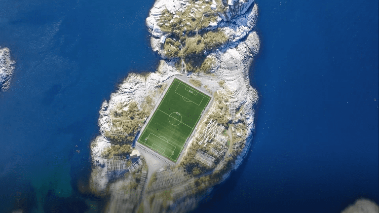 CTUG18 - 0249 - Henningsvaer Stadium The Most Scenic Place to Play Football - in body image