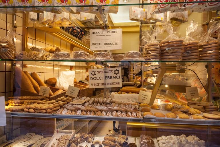Jewish bakery in Cannaregio, Venice