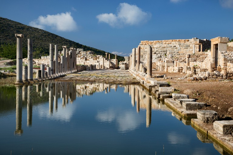 Ancient Lycian city of Patara