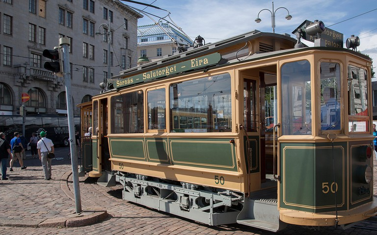 Tourist Tram in Market Square