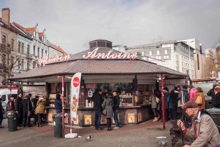 Maison Antoine, french fries street restaurant