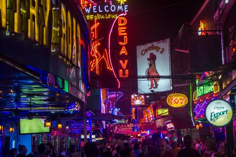 Bangkok red light district Soi Cowboy