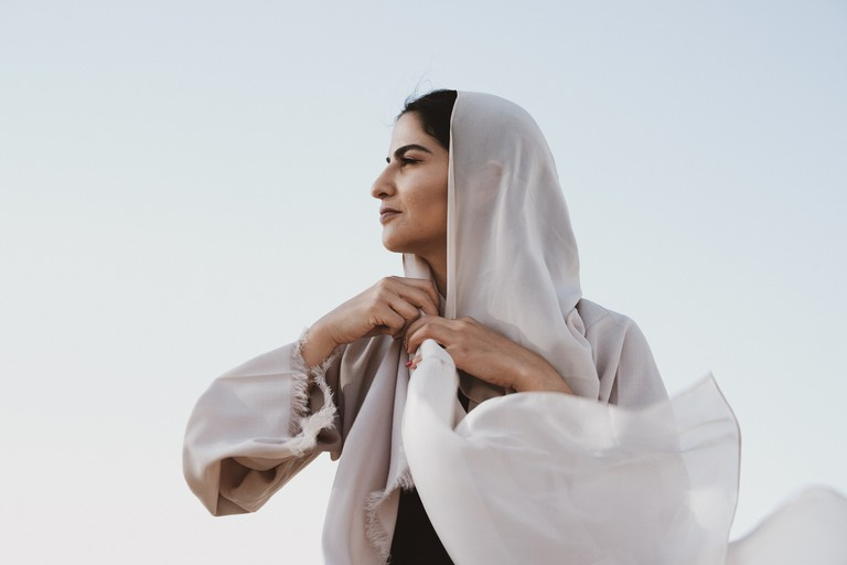 A Bold Muslim Woman captured by Darah Ghanem