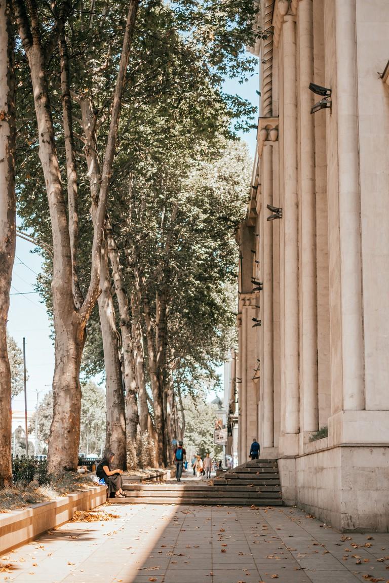 Beautiful streets of Tbilisi