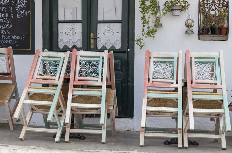 table and chairs (Greece)