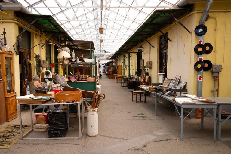 Ecseri Flea Market In Budapest