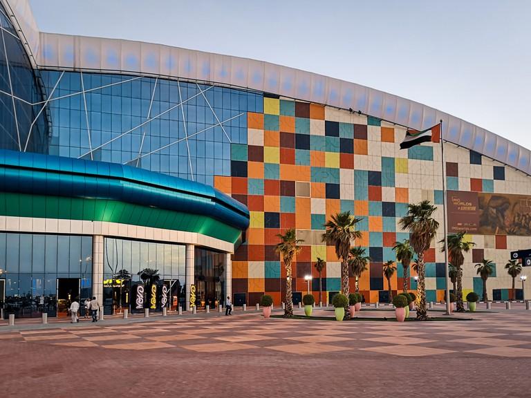 IMG Worlds of Adventure an indoor amusement theme park in Dubai city