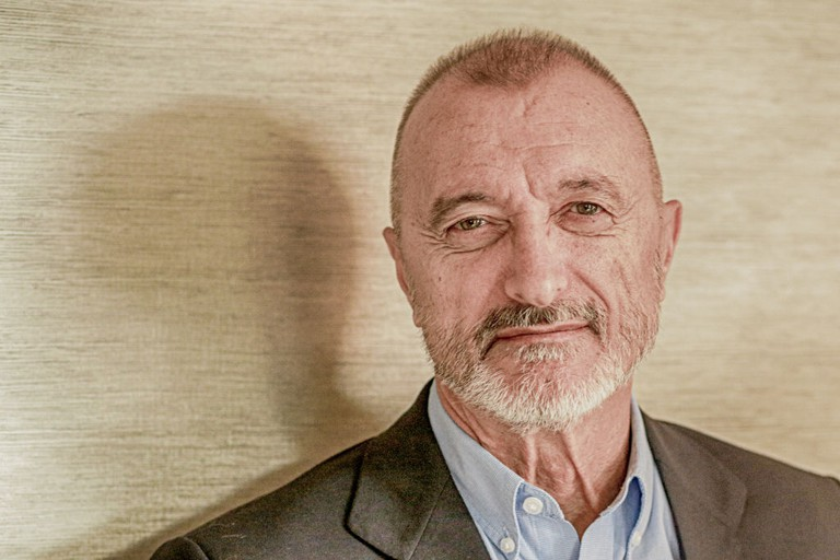 Arturo Pérez-Reverte Presents His New Book 'Sidi'