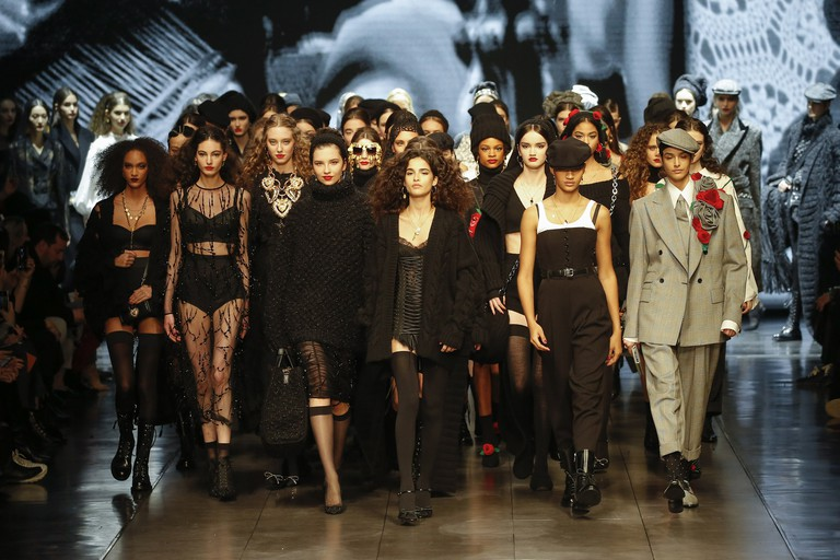 Dolce & Gabbana - Runway - Milan Fashion Week Fall/Winter 2020-2021