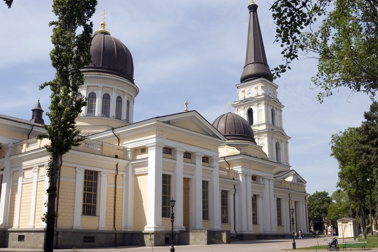 The Preobrazhensky Cathedral, (or Transfiguration Cathedral) in Odessa